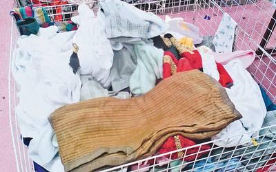 El problema con esta ropa es que se desconoce su procedencia   Fotos   Haidee Galicia 441c837ecd59