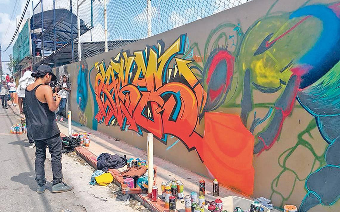 acapantzingo vive el color del graffitti el sol de cuernavaca
