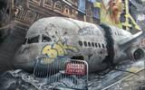 Artistas urbanos pintan paredes en la Colonia Tepeyac
