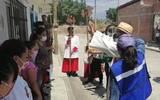 En la parroquia de San Pedro de Verona Mártir del poblado de Casasano, se llevó a cabo un Viacrucis presencial
