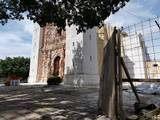 El sismo del 19 de septiembre provocó daños en lugares emblemáticos como el santuario de Tepalcingo y 11 capillas del municipio.