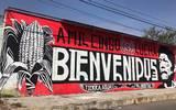 Mural en honor a Samir Flores en Amilcingo